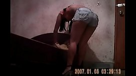 Morena garota de programa transando no puteiro