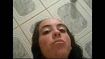 Novinha vagabunda com celular se filmando no banheiro