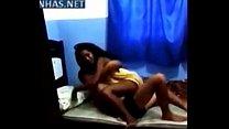 Negra na cam filmando porno com namorado