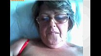 Video da amadora coroa com tesao na webcam