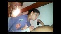 Corno real em vídeo caseiro com amigo comendo a mulher