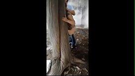 Flagras de sexo escondido entre casais tarados ao ar livre