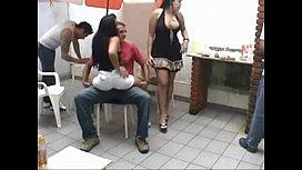 Putaria nacional na festa com as putas do brasil
