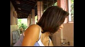 As panteras dotado com a tia brasileira