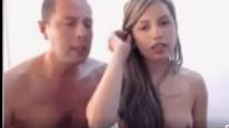 Pai fode filha e arromba buceta da menina novinha