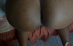 Vovó anal dando o rabão gostoso para o vizinho dotado meter
