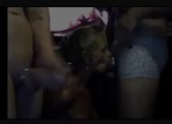 D4 casal dividindo a mulher gostosa com amigo roludo na cam