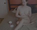 Rose kelly nude ficando pelada e mostrando os peitos na câmera