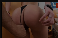 Sofrendo no anal comendo o rabo da brasileira gostosa