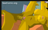 Os simpsons fazendo sexo com a mulher casada dos peitos grandes