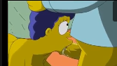 Simpson hentai no boquete na piroca do marido gordinho