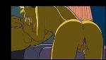 Simpsons porno da dona de casa pagando boquete na pica