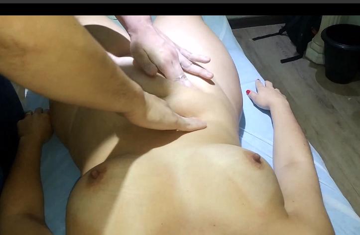 Porno massagista com estranho masturbando minha mulher fogosa