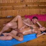 Sexo na sauna com minha ficante novinha que adora meter