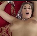 Loira de fio dental no sexo gostoso com namorado pauzudo