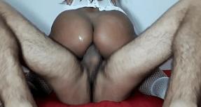 Filme de sexo da mulher coroa dando o rabo